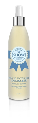 KNOT ANYMORE Detangling Spray by SHOW Premium Pet Grooming Products
