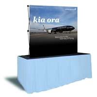 5ft x 5ft EZ Pop Fabric Display