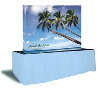 7.5ft x 5ft EZ Pop Fabric Display