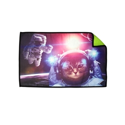 Astronaut Cat Player Microfiber