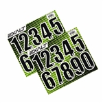 Exalt Loader Number Stickers - Black