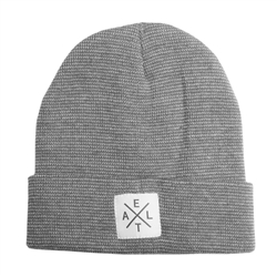 Crossroads Beanie Light Grey