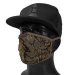 Exalt Face Mask - Brown Branch Camo