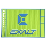 HD Rubber Tech Mat - Lime / Blue
