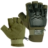 Exalt Paintball Hardshell Gloves - Hard Back Fingerless Tactical Glove - All Colors