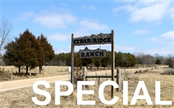 Missouri, Phelps County,  3 to 12 Acres Cedar Ridge Ranch SPECIAL . TERMS $170 to $340/Month