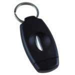 Xikar VX V-Cut Key Chain Cigar Cutter Black - 156BK