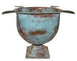 Stinky Cigar Ashtray - Old World Copper Patina - CA-ST-4CP
