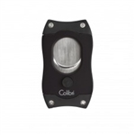Colibri S-Cut Cigar Cutter Black & Black - CU500T1