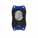 Colibri S-Cut Cigar Cutter Black & Blue - CU500T3