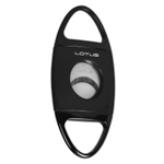 Lotus Jaws Serrated Cigar Cutter Glossy Black - CUT601
