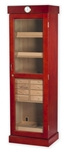 Humidor - Commercial Tower w/Drawers Cherry - HUM-2000C