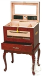 Humidor - Geneve Table Furniture Style Rosewood - HUM500G