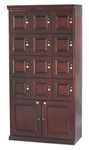 Humidor - Commercial Cigar Locker Mahogany - HUM-LOCKER-M