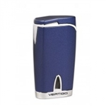 Vertigo Twister Blue Quad Torch Lighter - VTQBLU