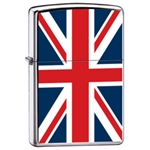 Zippo Lighter - England Great Britain British Flag - ZCI007961