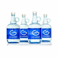 4 (Four) 1 Litre Bottles of Grander Blue Water