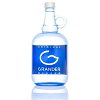 One Litre Bottle of Grander Blue Water