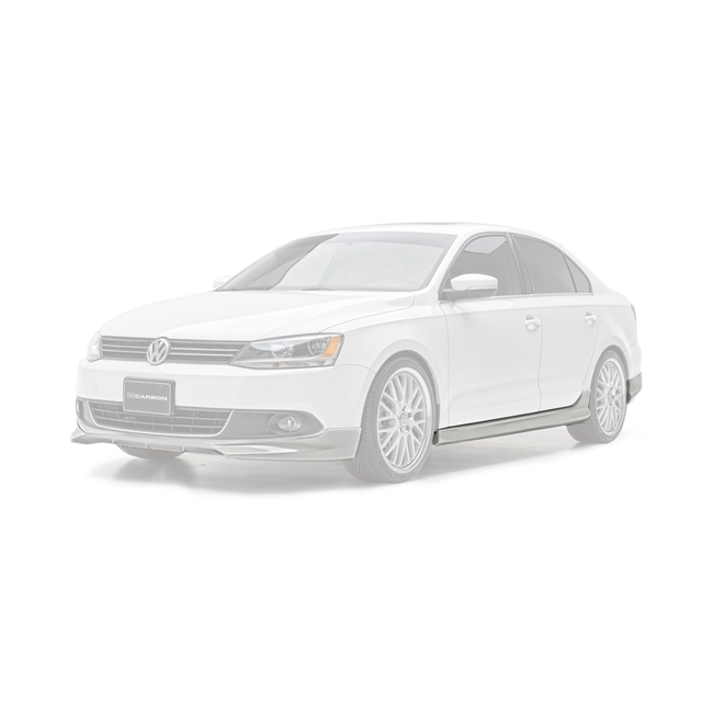 Ground Effects Kit, w/Chin Spoiler, 11-14, Jetta MK6, 4-PC