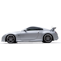 Body Kit, w/ 3D53 Wing, 03-08, 350Z, 5-PC