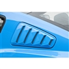 Quarter Window Set, Louvers, 10-14, Mustang