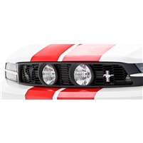 Grille, Front, E-Style, 10-14, Mustang GT