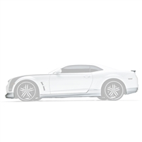 Body Kit, w/Spoiler, 10-13, Camaro V8, 5-PC