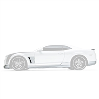 Body Kit, w/Spoiler U-Trim Vents, 10-13, Camaro V8, 7-PC