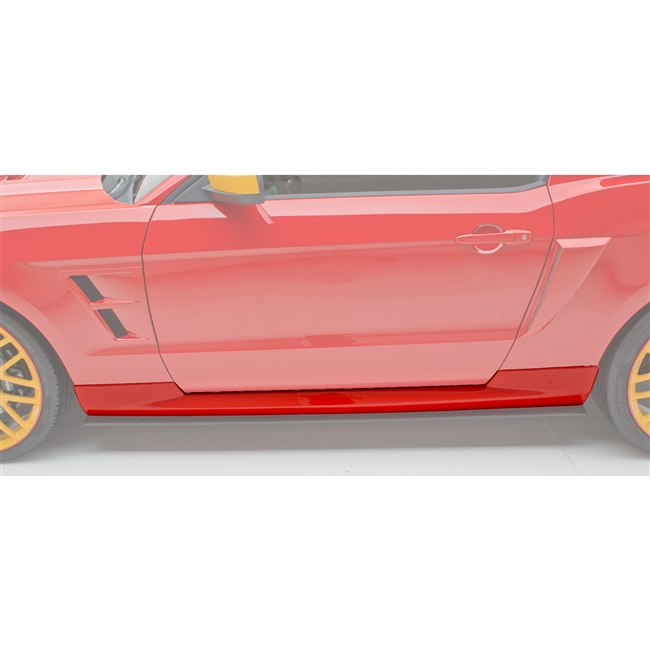 Side Skirt Set, Boy Racer, 10-14, Mustang