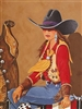 Corrales Cowgirl by Doreman Burns