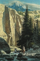 Along the West Fork by Frank McCarthy