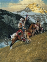 Blackfoot Raiders by Frank McCarthy
