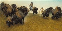 The Buffalo Runners by Frank McCarthy