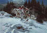 In the Land of the Winter Hawk People by Frank McCarthy