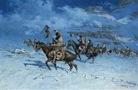 Snow Moon by Frank McCarthy