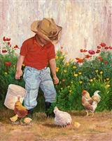 Country Boy by June Dudley