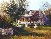 The Old Homestead by June Dudley