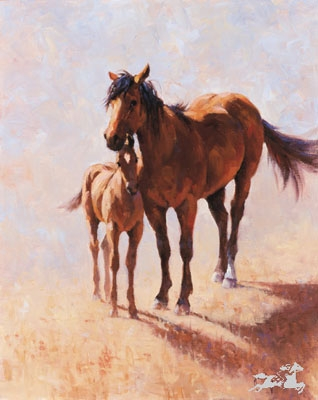 Mustang Mama by Jim Rey