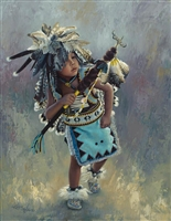Little Kootenai Dancer by Karen Noles