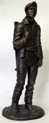 Peacekeeper Statue by Terrance Patterson