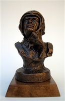 Fighter Pilot Bust by Terrance Patterson