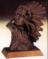 Chief Bust by Terrance Patterson