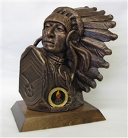 Chief Master Sgt Bust by Terrance Patterson