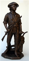 "13"" Small Minuteman by Terrance Patterson"