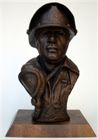 Fireman Bust by Terrance Patterson