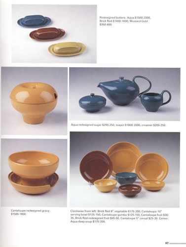 Russel Wright Dinnerware ...  sc 1 st  Collector Bookstore & Russel Wright Dinnerware Pottery \u0026 More ID \u0026 Price Guide by Keller Ross