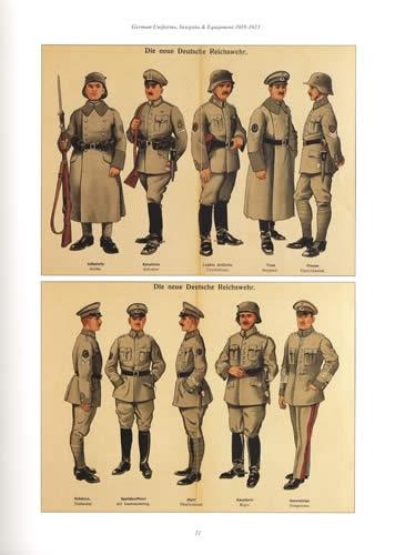 German Uniforms Insignia Amp Equipment 1918 23 Freikorps