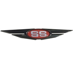Chromax Black Chrome Wing with Red SS Emblem