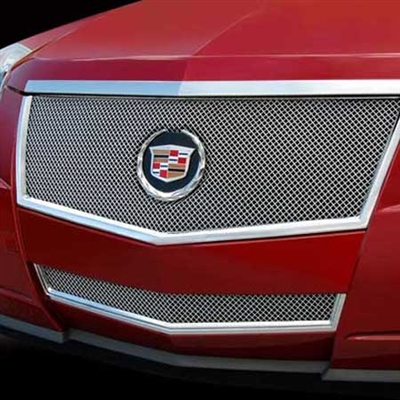 Cadillac CTS Coupe Fine Mesh Grille by E&G CLASSICS, 2011, 2012, 2013, 2014