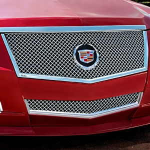 Cadillac CTS Sport Wagon Heavy Mesh Grille, 2010, 2011, 2012, 2013, 2014